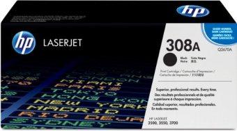 Originálny toner HP 308A, HP Q2670A (Čierny)