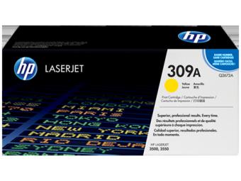 Originálny toner HP 309A, HP Q2672A (Žltý)