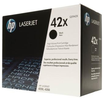Originálny toner HP 42X, HP Q5942X (Čierný)