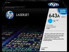 Toner do tiskárny Originálny toner HP 643A, HP Q5951A (Azúrový)