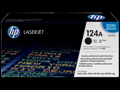 Originálny toner HP 124A, HP Q6000A (Čierny)