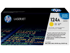 Toner do tiskárny Originálny toner HP 124A, HP Q6002A (Žltý)