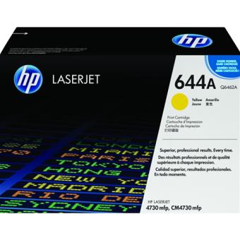 Originálny toner HP 644A, HP Q6462A (Žltý)