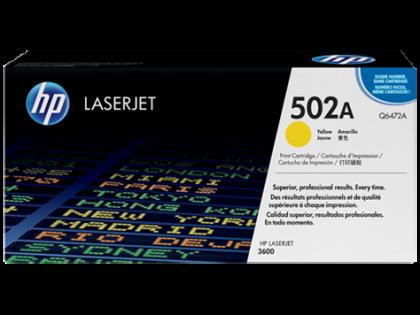Originálny toner HP 502A, HP Q6472A (Žltý)