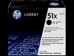 Toner do tiskárny Originálny toner HP 51X, HP Q7551X (Čierny)