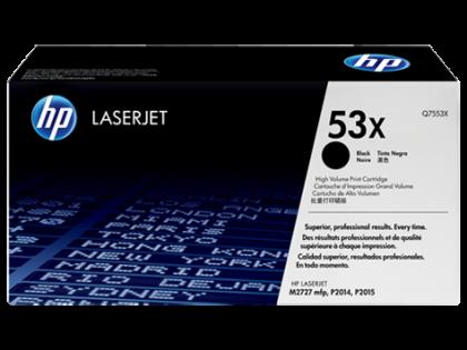 Originálny toner HP 53x, HP Q7553X (Čierny)
