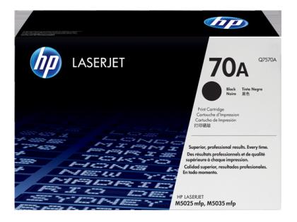Originálny toner HP 70A, HP Q7570A (Čierný)