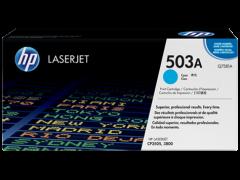 Toner do tiskárny Originálny toner HP 503A, HP Q7581A (Azúrový)
