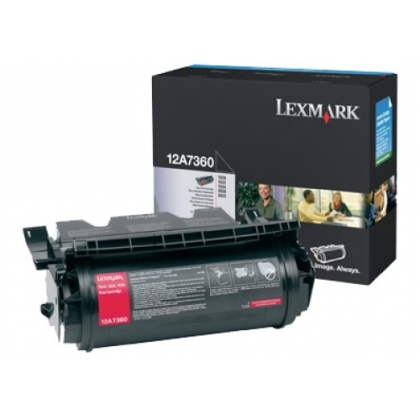 Originálny toner Lexmark 12A7360 (Čierny)