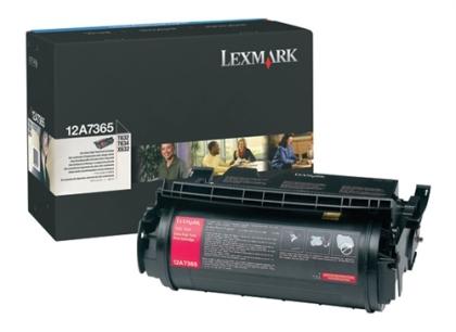 Originálny toner Lexmark 12A7365 (Čierny)