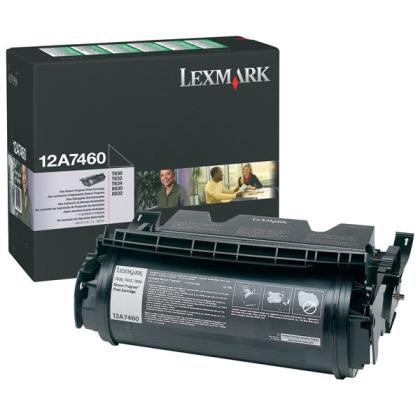 Originálny toner Lexmark 12A7460 (Čierny)
