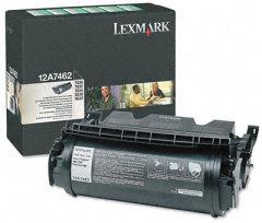 Toner do tiskárny Originálny toner Lexmark 12A7462 (Čierny)