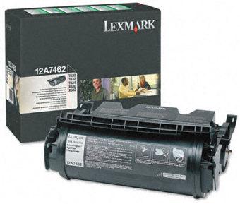 Originálny toner Lexmark 12A7462 (Čierny)
