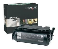 Toner do tiskárny Originálny toner Lexmark 12A7468 (Čierny)