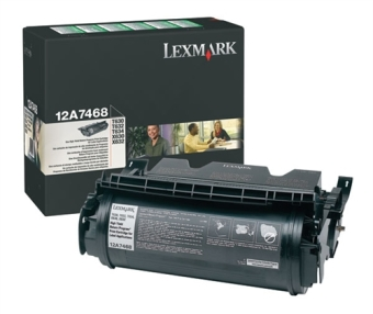 Originálny toner Lexmark 12A7468 (Čierny)