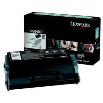 Originálny toner Lexmark 12S0400 (Čierny)