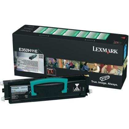 Originálny toner Lexmark E352H11E (Čierny)