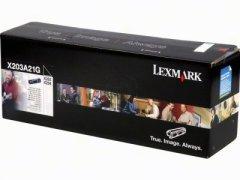 Toner do tiskárny Originálny toner Lexmark X203A21G (Čierný)