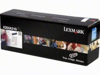 Originálny toner Lexmark X203A21G (Čierný)