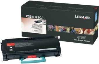 Originálny toner Lexmark X264H21G (Čierný)
