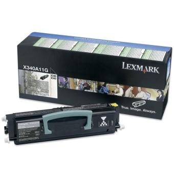 Originálny toner Lexmark X340A11G (Čierný)