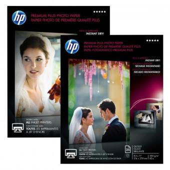 Fotopapier A3 HP Premium Plus Glossy, 20 listov, 300 g/m2, lesklý (CR675A)