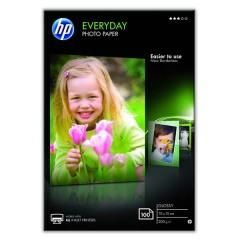 Fotopapier 10x15cm HP Everyday Glossy, 100 listov, 200 g/m2, lesklý (CR757A)