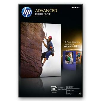 Fotopapier 10x15cm HP Advanced Glossy, 25 listov, 250 g/m2, lesklý (Q8691A)
