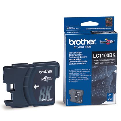 Originálna cartridge  Brother LC-1100BK (Čierna)