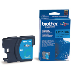 Cartridge do tiskárny Originálna cartridge  Brother LC-1100C (Azúrová)