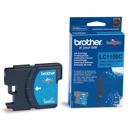 Originálna cartridge  Brother LC-1100C (Azúrová)