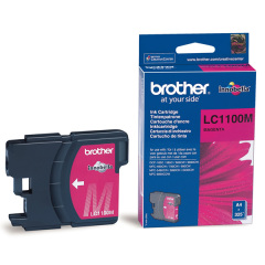 Cartridge do tiskárny Originálna cartridge  Brother LC-1100M (Purpurová)
