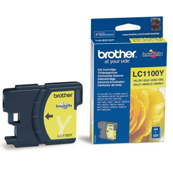 Originálna cartridge  Brother LC-1100Y (Žltá)