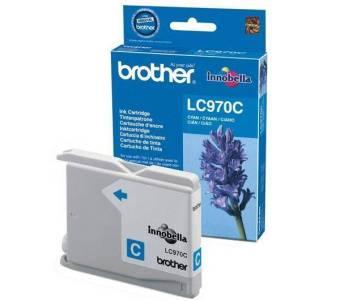 Originálna cartridge  Brother LC-970C (Azúrová)