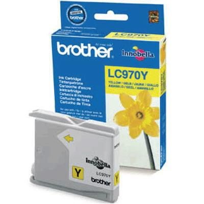Originálna cartridge  Brother LC-970Y (Žltá)