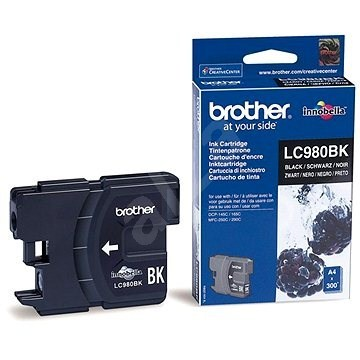 Originálna cartridge  Brother LC-980BK (Čierna)