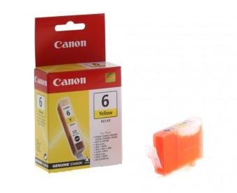 Originálna cartridge  Canon BCI-6Y (Žltá)