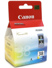 Cartridge do tiskárny Originálna cartridge  Canon CL-38 (Farebná)