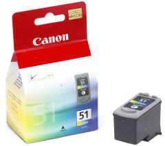 Cartridge do tiskárny Originálna cartridge  Canon CL-51 (Farebná)