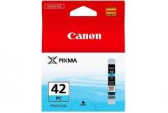 Cartridge do tiskárny Originálna cartridge  Canon CLI-42PC (Foto azúrová)