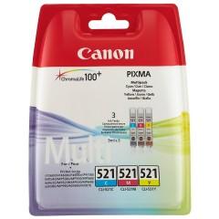 Sada originálných cartridge Canon CLI-521C/M/Y