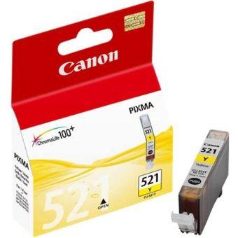 Originálna cartridge  Canon CLI-521Y (Žltá)