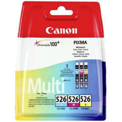 Sada originálných cartridge Canon CLI-526C/M/Y