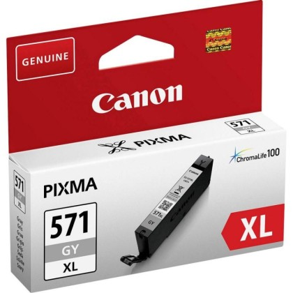 Originálna cartridge Canon CLI-571GY XL (Sivá)
