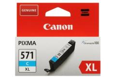 Cartridge do tiskárny Originálna cartridge Canon CLI-571C XL (Azúrová)