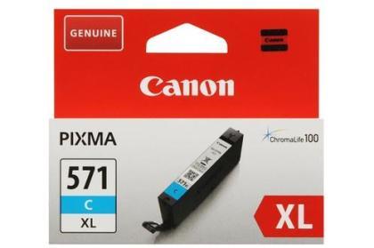 Originálna cartridge Canon CLI-571C XL (Azúrová)