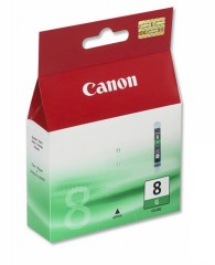 Cartridge do tiskárny Originálna cartridge  Canon CLI-8G (Zelená)