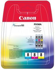 Sada originálných cartridge Canon CLI-8C/M/Y