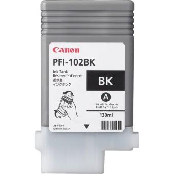 Originálna cartridge  Canon PFI-102BK (Čierna)