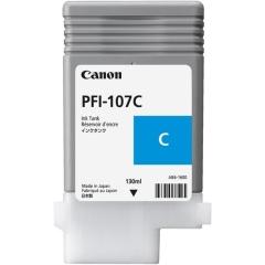 Cartridge do tiskárny Originálna cartridge Canon PFI-107C (Azúrová)